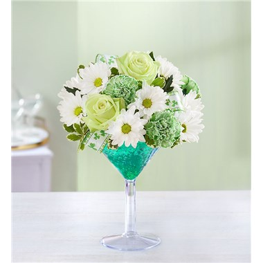 Green Dublin Flora Cocktail Flowerama Ames 431