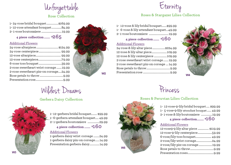 Excellent Bridal Package Price List Gifts Flowers Ames Ia Same Download Free Architecture Designs Crovemadebymaigaardcom